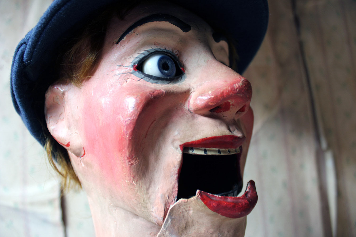 An Early 20thC Cased Ventriloquist's Dummy By Arthur Quisto