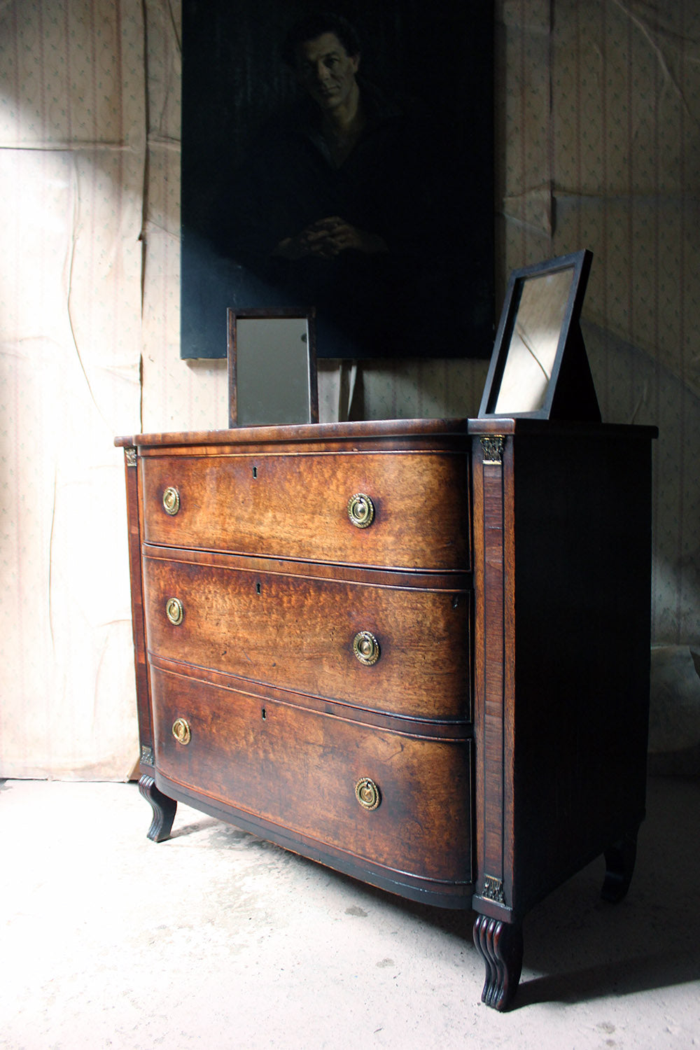 A Regency Period Mahogany Chest of Drawers c.1825