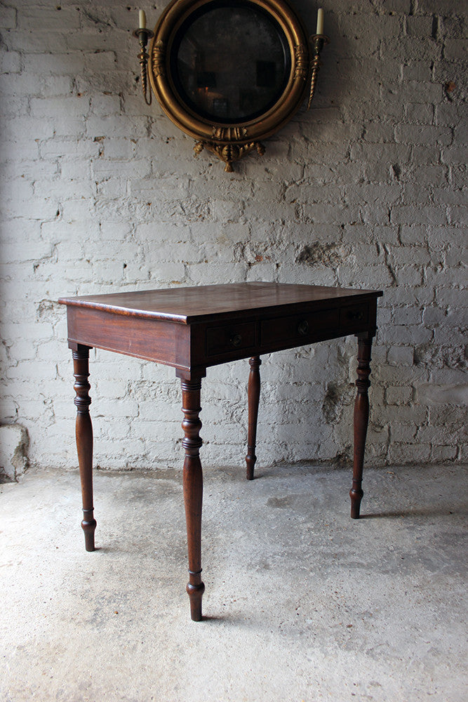 A Good Quality Regency Mahogany Side Table c.1815