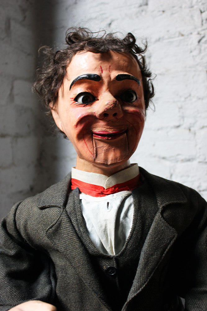 A Wonderful c.1930 Ventriloquist's Dummy Attributed to Herbert Brighton; 'Silas Brown'