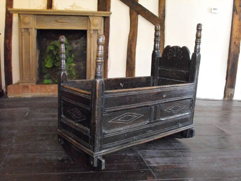 A Seventeenth Century Child's Cradle