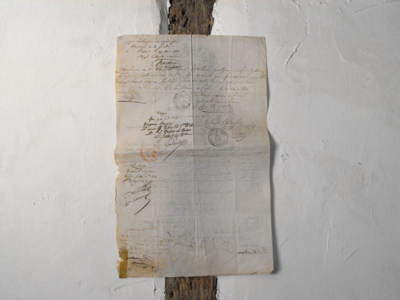 An Early 19thC French Passport, Signed by Jules, Prince du Polignac, Later Prime Minister of France