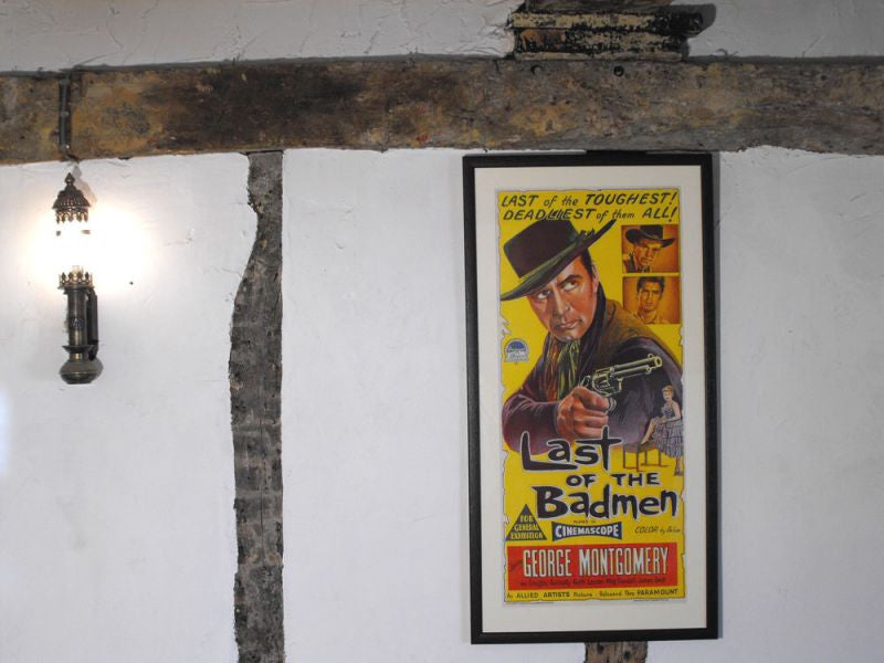 "An Original 1950s Vintage Movie Poster ""The Last of the Badmen"""