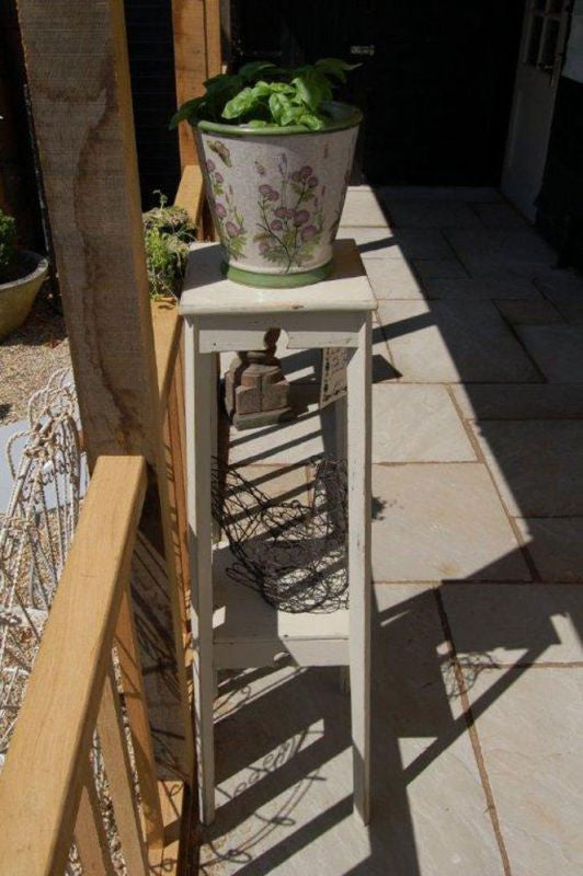 A 1920s Arts & Crafts Style Painted Two-Tier Jardinière / Plant Stand