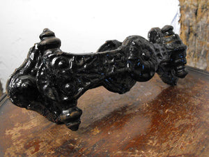 An Exceedingly Decorative Kenrick & Sons Cast Iron Door Knocker, No.423