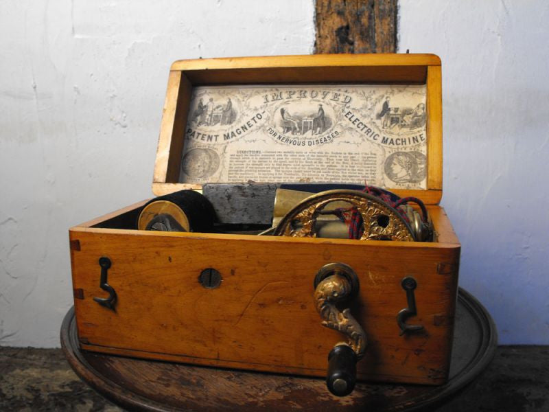 A Victorian Electric Shock Therapy Machine