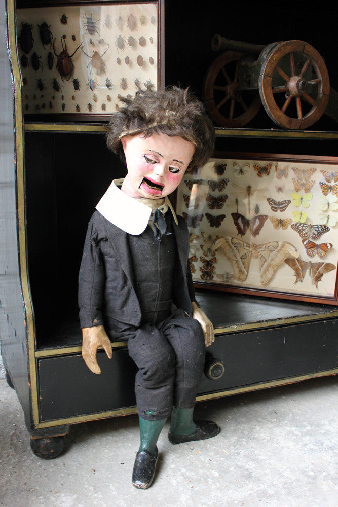 A Wonderful c.1910 Ventriloquist's Dummy; 'Willy'