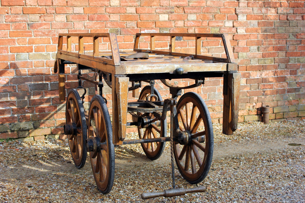 A c.1900 Funeral Bier from The Parish of Shepton Beauchamp, Somerset