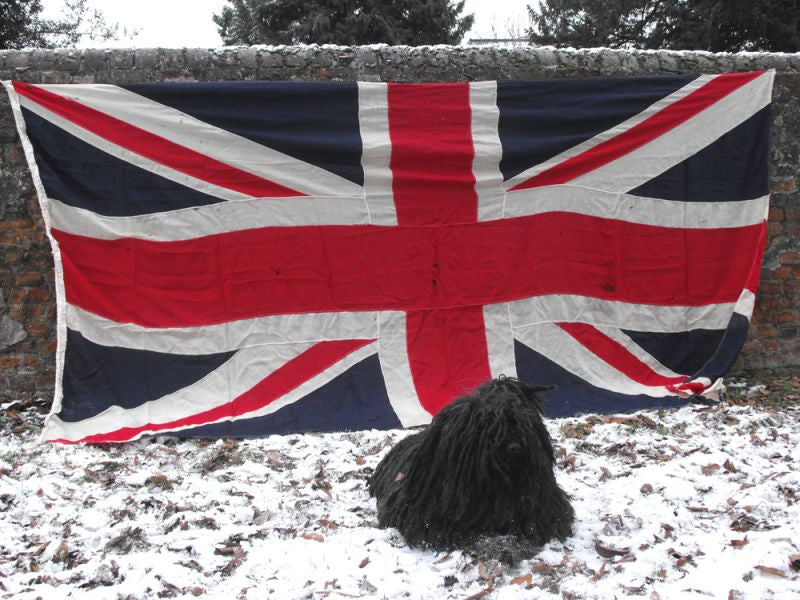 A Simply Colossal Vintage Union Jack Flag