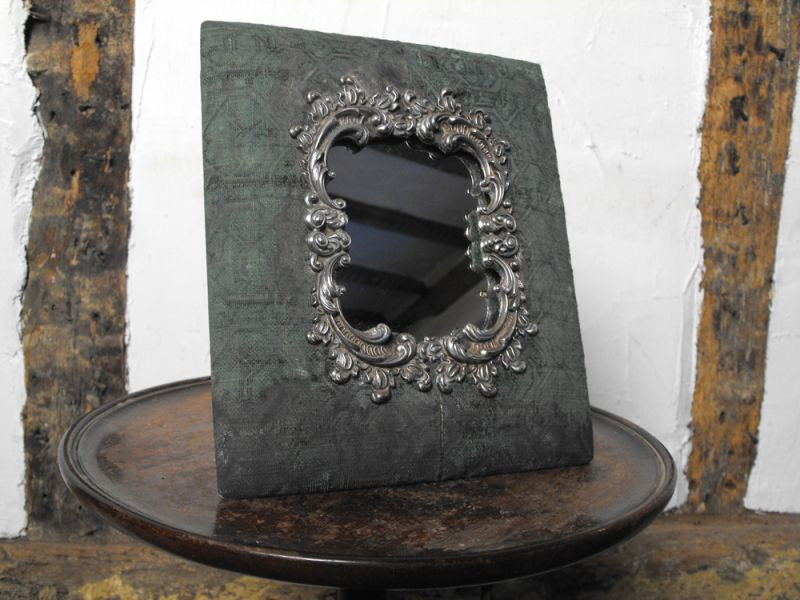 An Unusual Early 20thC French Easel Back Dressing Table Mirror