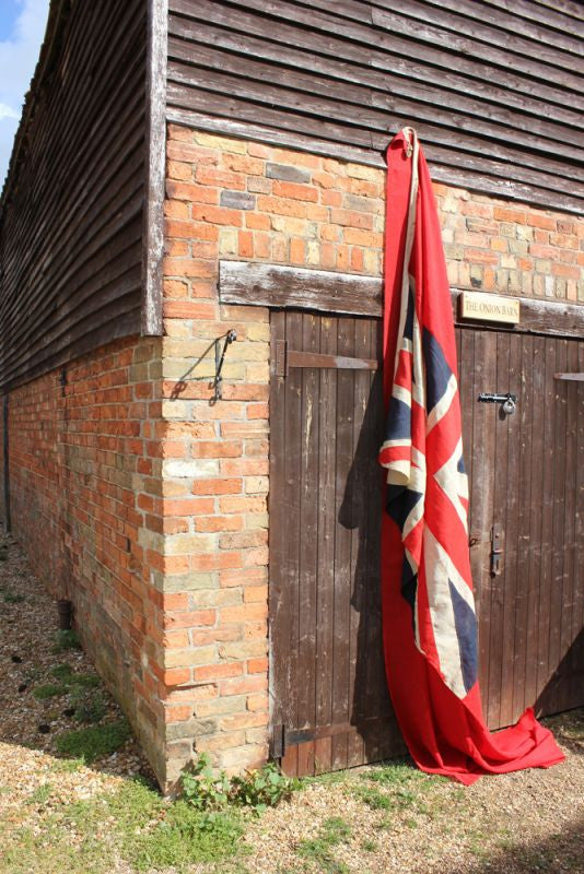A Huge British Vintage Royal Navy Red Ensign Flag c.1930