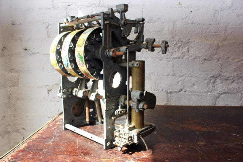 An Original c.1955 Mechanism for a Beromat Glocke Slot Machine