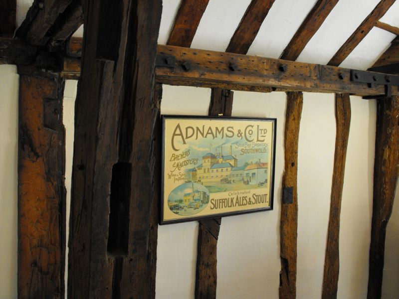 A Vintage Advertising Sign for Adnams Brewery