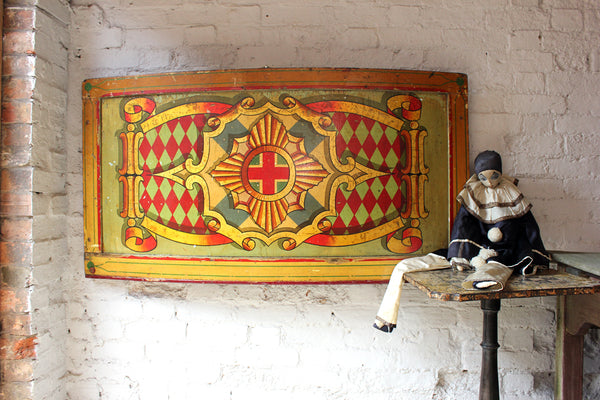 A Superb C 1953 Large Hand Painted Fairground Hoopla Stall