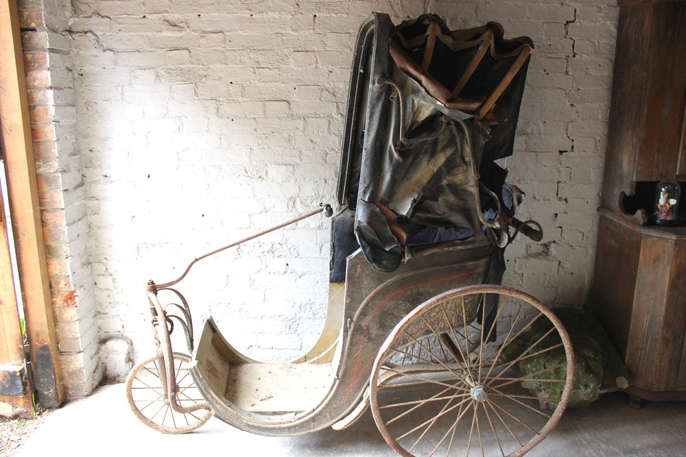 A Wonderful Mid 19thC Invalid Carriage / Bath Chair c.1854