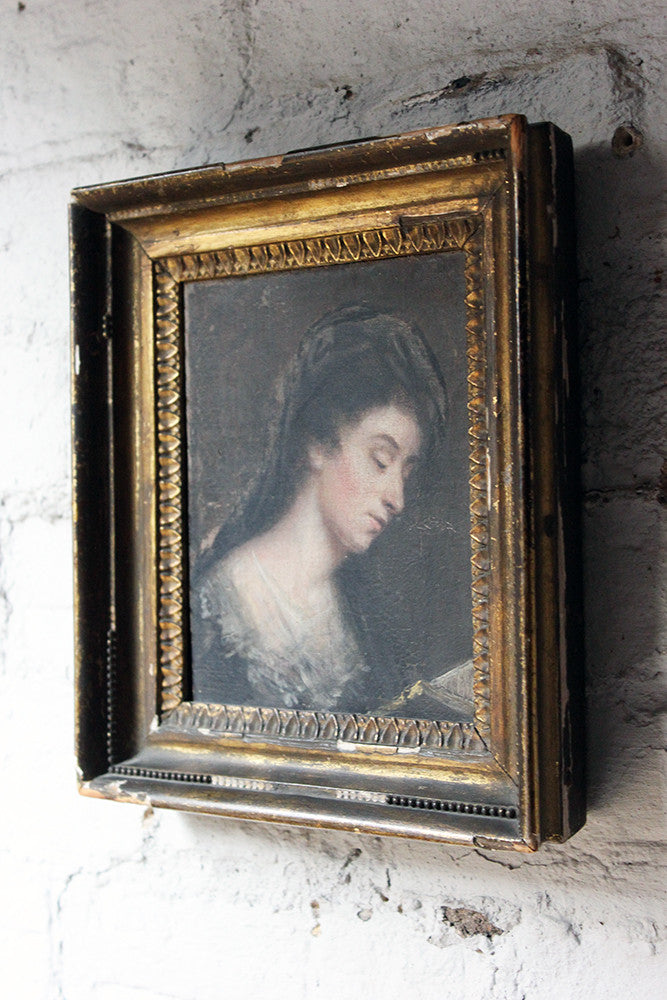 A Good 18thC English School Portrait of a Lady c.1770