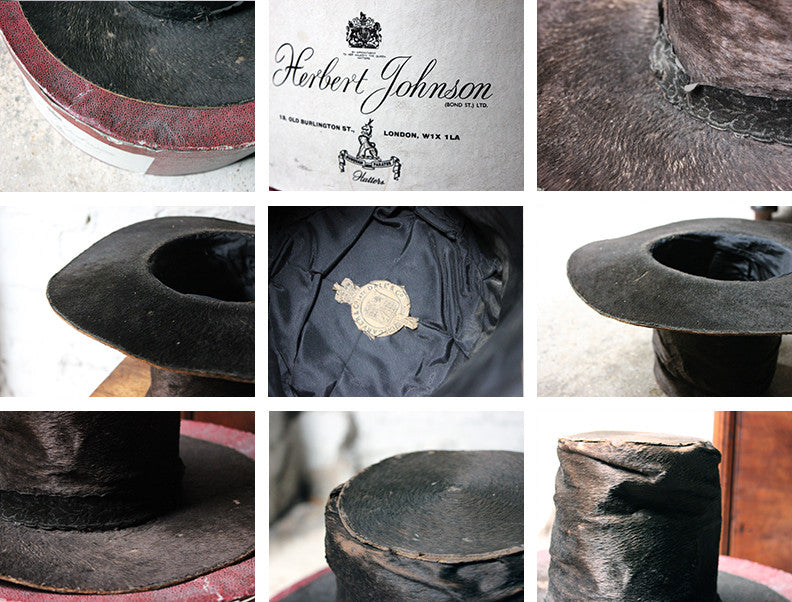 A Wonderful Boxed 19thC Ladies Pony Skin Welsh Hat 'Het Gymreig' by Carver & Co late Dale & Co' c.1875