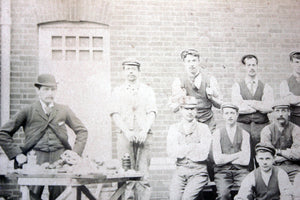 A Rare Albumen Print Photograph of Department Staff of West Sussex Lunatic Asylum, Chichester c.1900