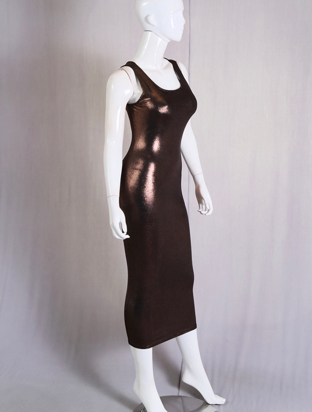 Bronze chick dress