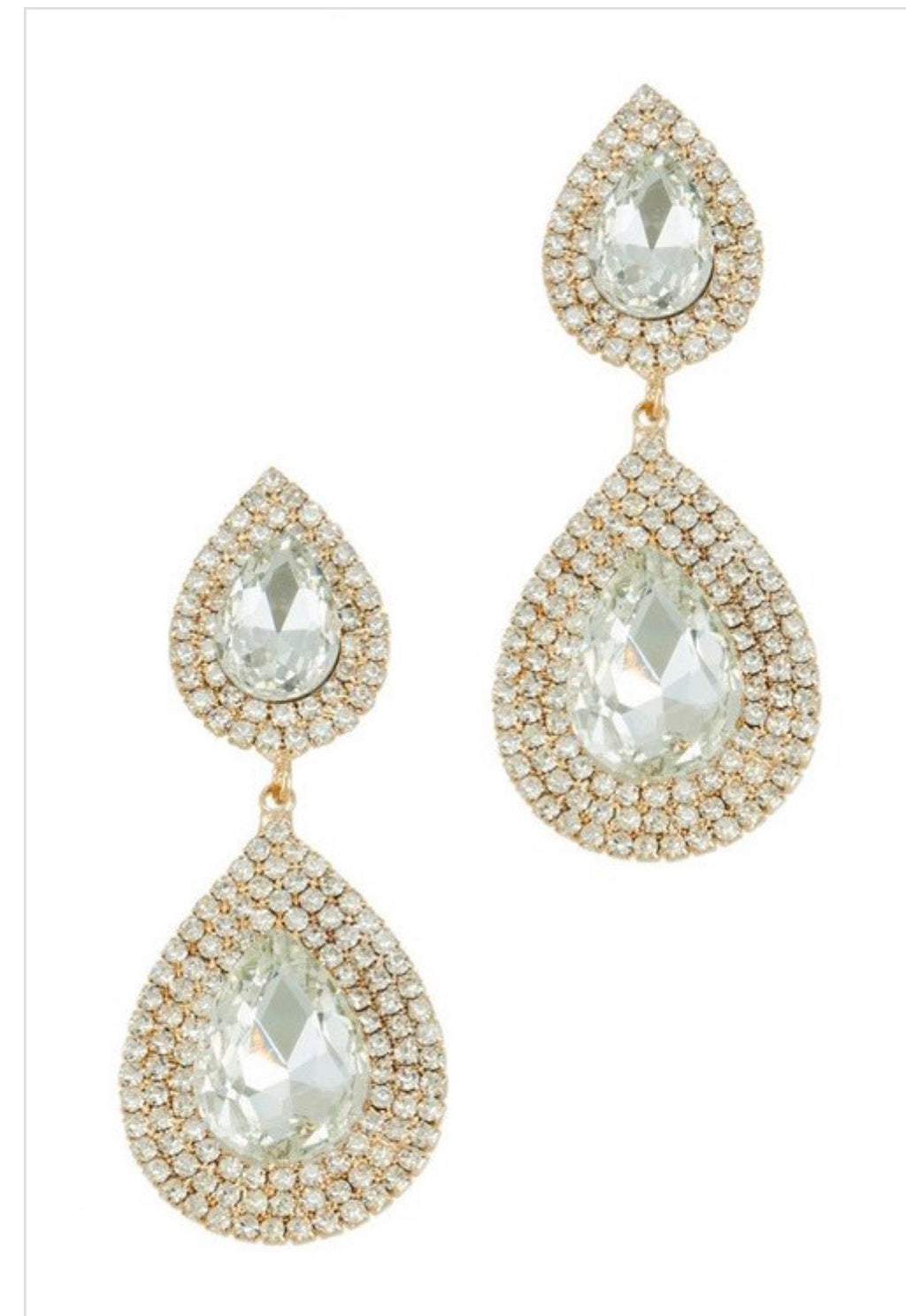 Bride earrings