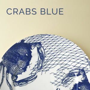 Crabs & Nets Blue