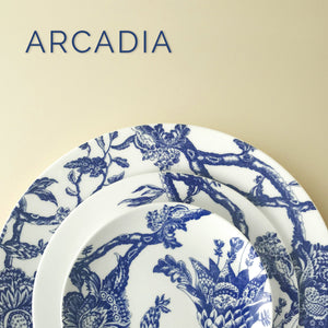 WILLIAMSBURG Collection - Arcadia Blue Monogrammed Plates & Accessories