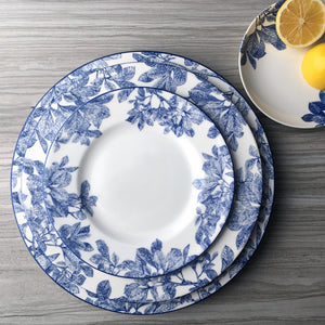 Arbor Blue Charger Plate, Dinner Plate and Salad Plate