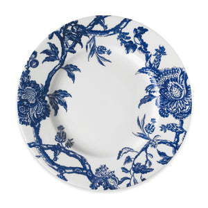 Arcadia Pattern Blue and White Floral Dinner Plate in Collaboration with Colonial Williamsburg