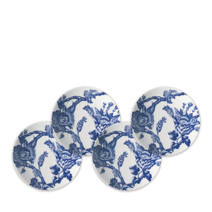 Arcadia Blue Appetizer Plates Set/4