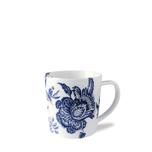 Colonial Williamsburg Arcadia Blue Wide Coffee Mug