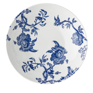 Arcadia Wide Serving Bowl Blue and White Caskata