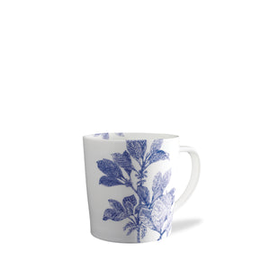 Arbor Blue and White Floral Porcelain Mug
