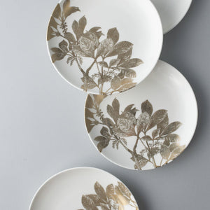 Arbor Gold Appetizer Plates Set/4
