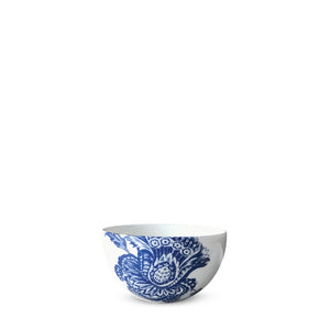 Arcadia Blue and White Floral Snack Bowl in Collaboration with Colonial Williamsburg