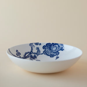 Arcadia Blue and White Coupe Soup or Pasta Bowl in Collaboration with the Williamsburg Foundation