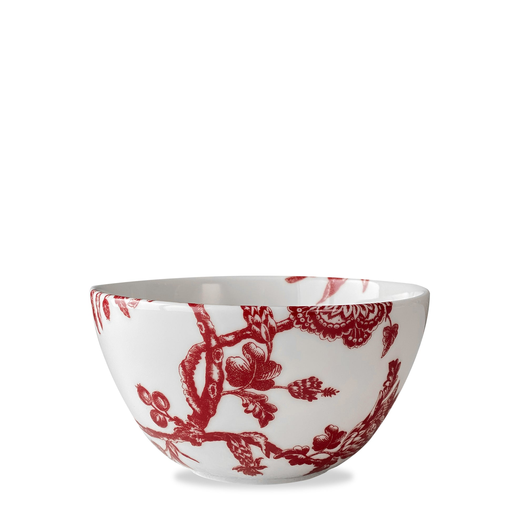 Arcadia Crimson Tall Cereal Bowl - Caskata