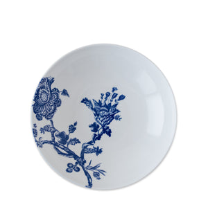 Blue and White Arcadia Coupe Soup or Pasta Bowl in Bone China