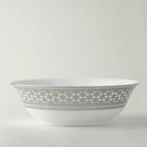 Hawthorne Ice (Platinum) Medium Serving Bowl