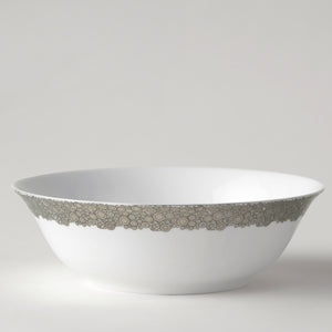 Ellington Shine Multi-Toned Platinum Serving Bowl - Caskata