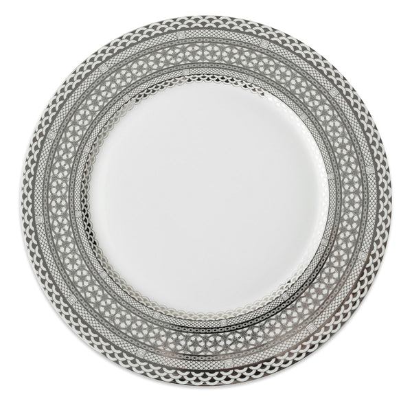 Hawthorne Ice (Platinum) Charger Plate
