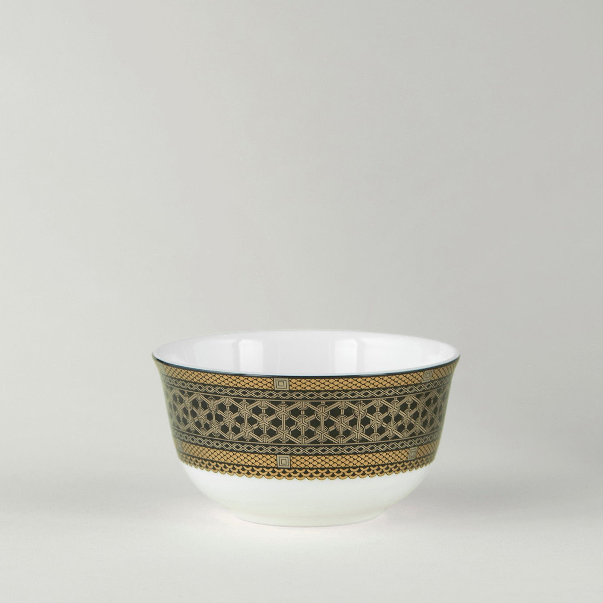 Hawthorne Onyx Gold & Platinum Side Bowl - Caskata