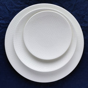 Catch Appetizer Plate with Catch Accent Plate and Dinner Plate