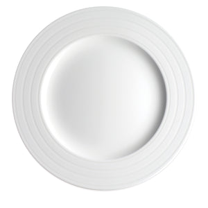 Cambridge Stripe White Charger Plate