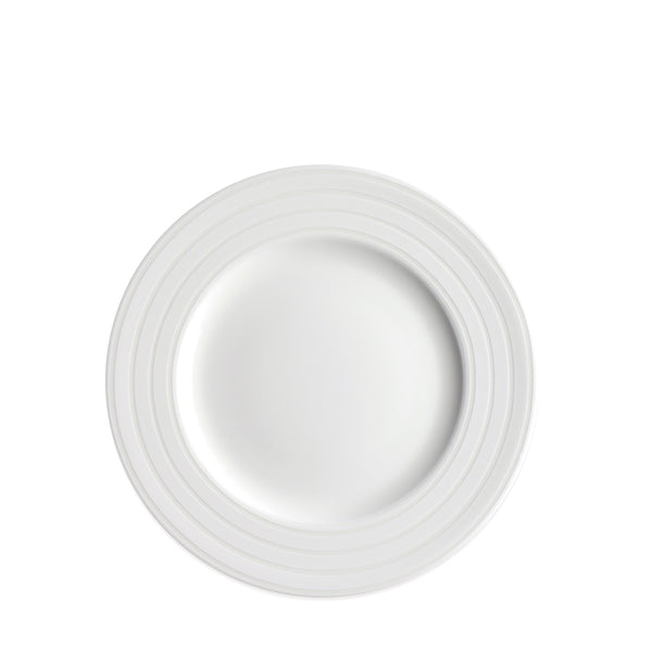 Cambridge Stripe White Salad Plate