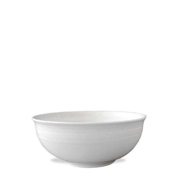 Cambridge Stripe White Cereal Soup Salad Bowl