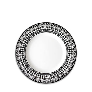 Casablanca Black Salad Plate