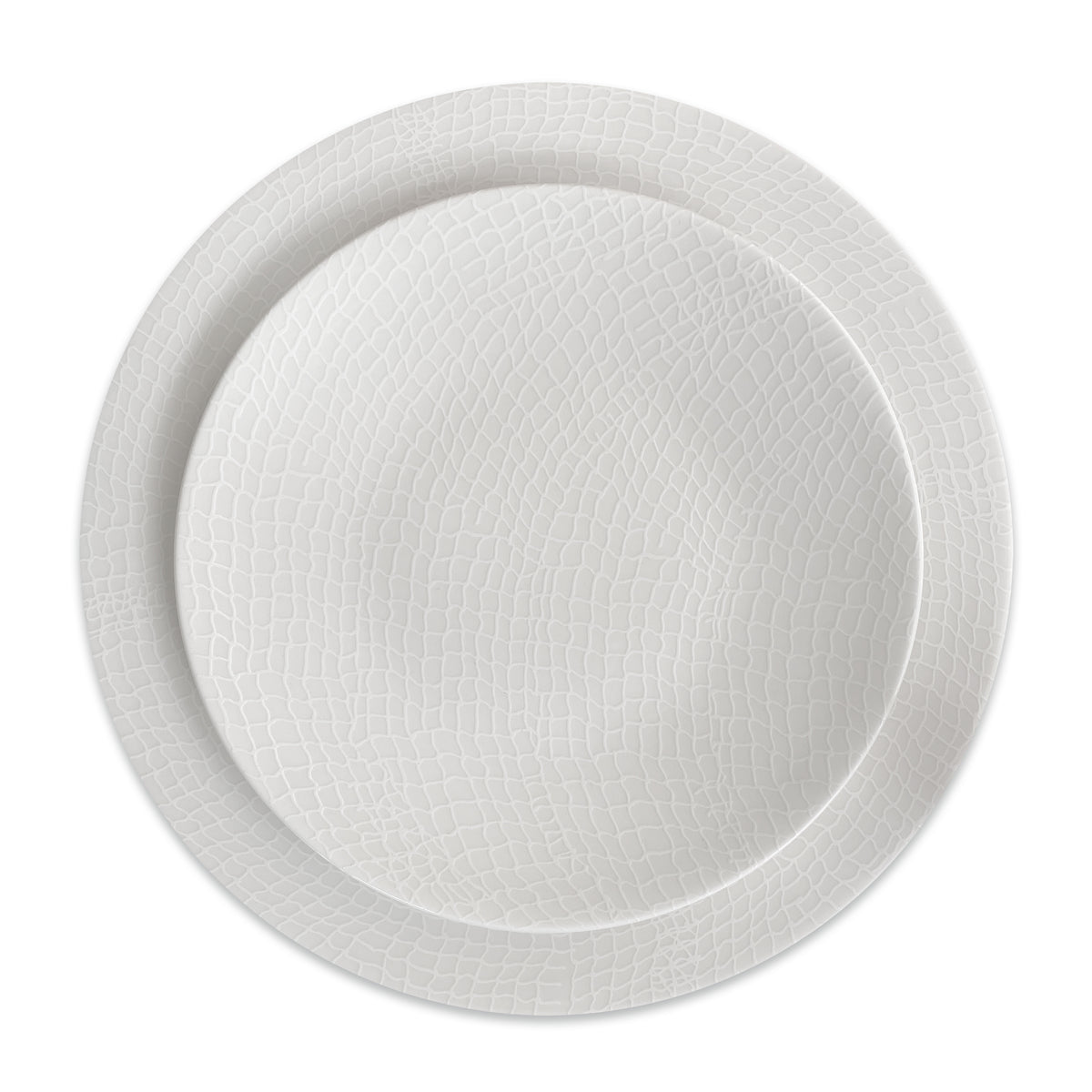 Catch White Coupe Salad or Dessert Plate - Caskata