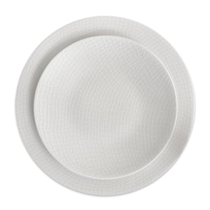 White Catch Dinner Plate** - Caskata