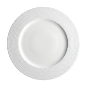 Catch Netting White Dinner Plate