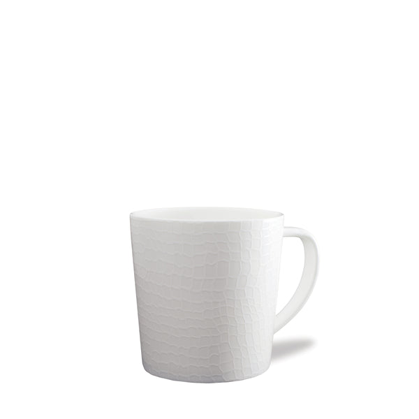 Catch Netting White Wide Coffee Mug
